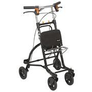 特高步TacaoF 助行器 辅助步行车 老人车 T-US06  黑色价格1480