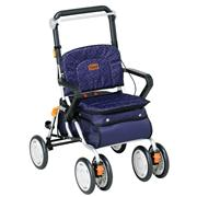 特高步TacaoF 助行器 辅助步行车 老人车 T-ST10 紫色价格1700