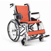 康扬KARMA航空级铝合金可折叠老人轮椅车KM-2500L 价格1780
