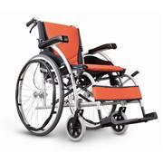 康扬KARMA手动航空级铝合金折叠老人轮椅车KM-1502 F24  价格2480