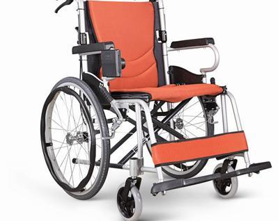 康扬KARMA航空级铝合金可折叠老人轮椅车KM-2500L价格1780
